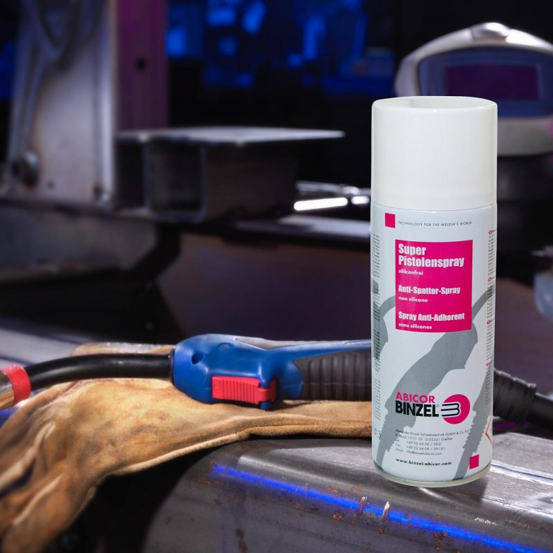 Binzel – How to remove and prevent weld spatter